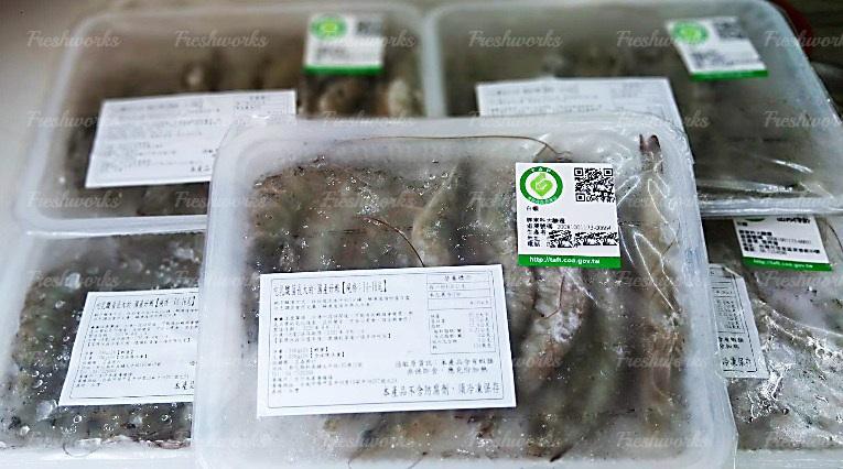 吃乳酸菌長大的 - 活凍國產好蝦【產銷履歷】 2