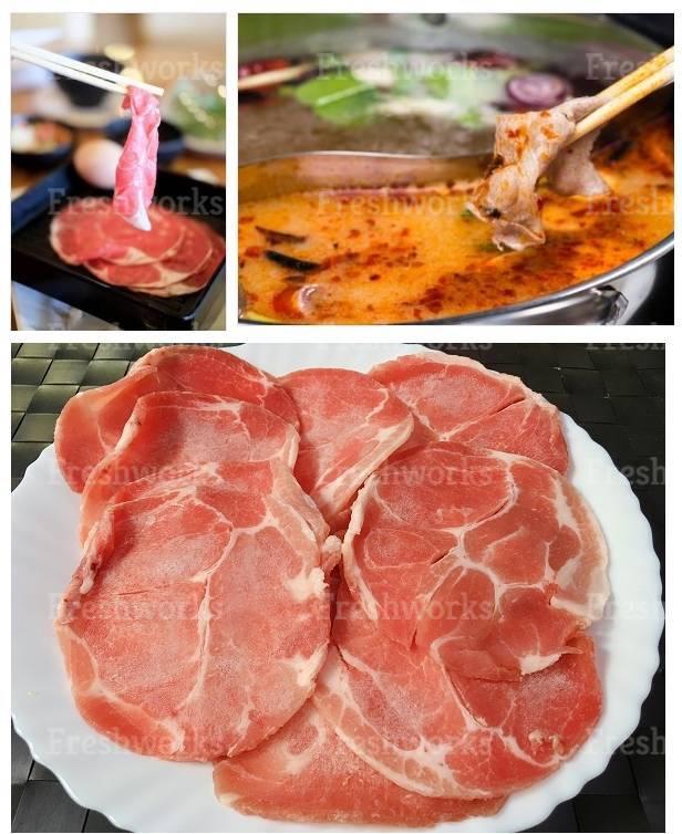 西班牙豬梅花薄切 1