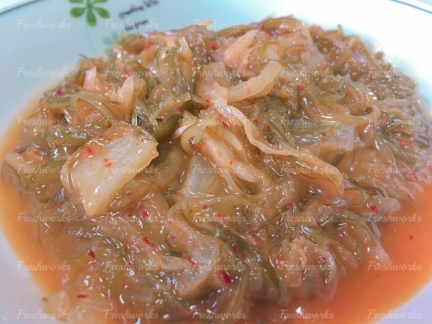 黃金泡菜海帶絲(植物五辛素) 1